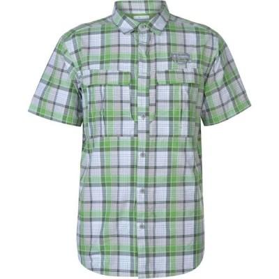 コロンビア Columbia メンズ 半袖シャツ トップス Casacade Short Sleeve Shirt Green