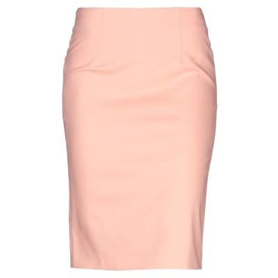 ジゼル G.SEL ひざ丈スカート サーモンピンク 42 コットン 63% / ナイロン 32% / ポリウレタン 5% ひざ丈スカート