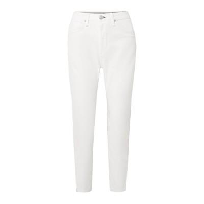 ラグアンドボーン RAG & BONE パンツ ホワイト 26 コットン 97% / ポリブチレン 3% パンツ