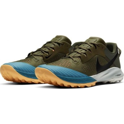 ナイキ NIKE メンズ ランニング・ウォーキング エアズーム シューズ・靴 Air Zoom Terra Kiger 6 Trail Running Shoe Medium Olive/Black/Orange