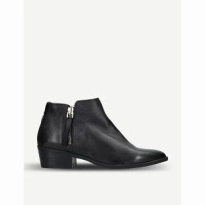アルド ブーツ veradia leather ankle boots Black