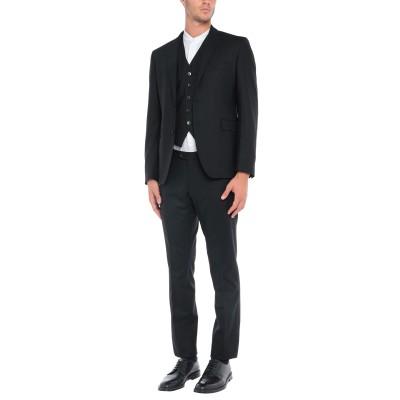 タリアトーレ TAGLIATORE スーツ ブラック 54 バージンウール 98% / ポリウレタン® 2% スーツ