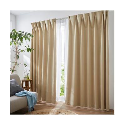 【送料無料!】奥行のある色合いのカチオンミックスドビー織遮熱・防音・1級遮光カーテン ドレープカーテン(遮光あり・なし) Curtains, blackout curtains, thermal curtains, Drape(ニッセン、nissen)