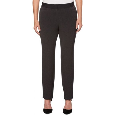 ラファエラ Rafaella レディース ショートパンツ ボトムス・パンツ Curvy Fit Gabardine Slim Leg Pant- Short Inseam Graphite