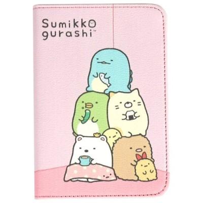 すみっコぐらし/SUMIKKOGURASHI・パスポートケース ホルダー 可愛いケース とかげのケース (02)