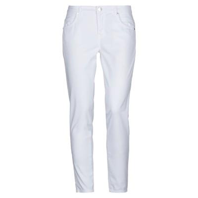 MAISON ESPIN パンツ ホワイト 31 コットン 97% / ポリウレタン 3% パンツ