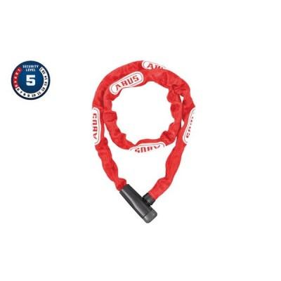 自転車 鍵 ABUS 5805K 110 RED アブス チェーンロック キータイプ バイクロック ロードバイク 盗難防止 レッド カギ 頑丈 有名 保証