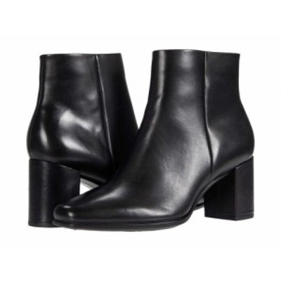 ECCO エコー レディース 女性用 シューズ 靴 ブーツ アンクル ショートブーツ Shape 60 Squared Ankle Bootie Black【送料無料】