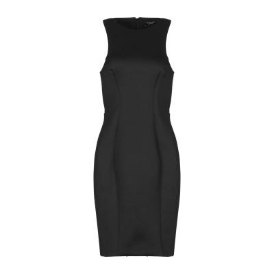 MARCIANO ミニワンピース&ドレス ブラック 42 ポリエステル 93% / ポリウレタン 7% ミニワンピース&ドレス