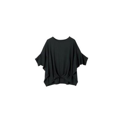 Ranan 切替ドルマンTシャツ(ブラック)