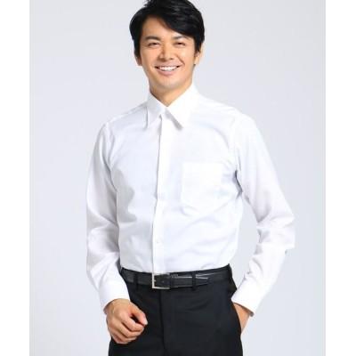 TAKEO KIKUCHI/タケオキクチ 100/2ブロードシャツ ホワイト(001) 02(M)
