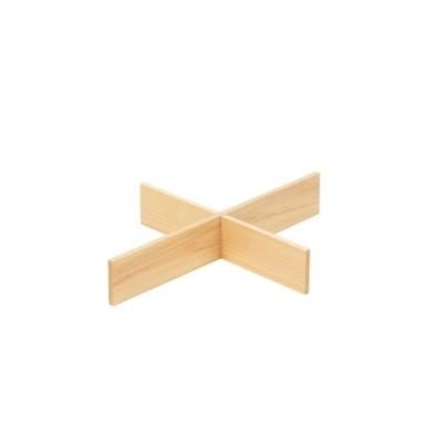以為 日光杉・桧ガストロノームパン用仕切 1/2用4ケ仕切(7-1549-0601)