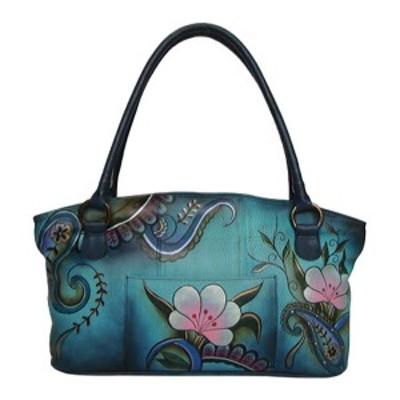 アンナバイアナシュカ レディース ハンドバッグ バッグ Tote Bag 7015 Denim Paisley Floral