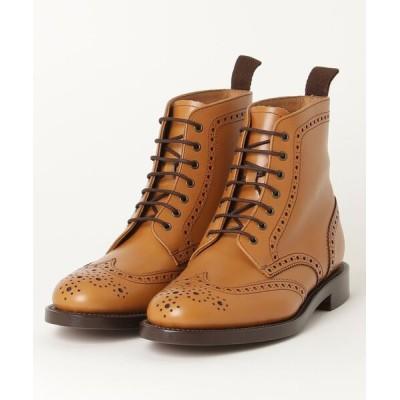 REGAL FOOT COMMUNITY / リーガル レディース/【プレミアムライン】革底レースアップウィングチップショートブーツ WOMEN シューズ > ブーツ