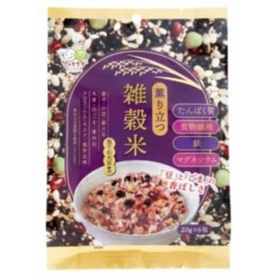 薫り立つ雑穀米120g(20g×6包) 種商