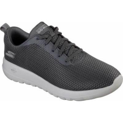 スケッチャーズ メンズ スニーカー シューズ Men's Skechers GOwalk Max Walking Shoe Charcoal