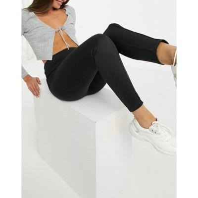 ミスセルフフリッジ レディース カジュアルパンツ ボトムス Miss Selfridge ponte slim leg pants in black