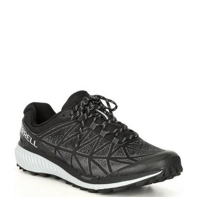 メレル メンズ スニーカー シューズ Men's Agility Synthesis 2 Lace-Up Trail Running Shoes Black