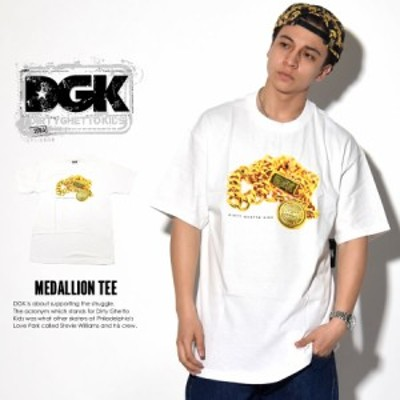 (メール便送料無料)ディージーケー (DGK) Tシャツ メンズ MEDALLION TEE (DT-3533)