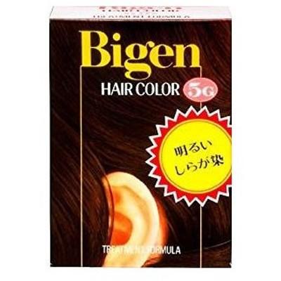ビゲン ヘアカラー 5G(深い栗色)