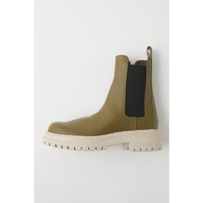 CHUNKY SOLE SIDEGORE ブーツ KHA
