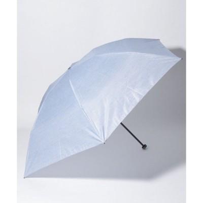 【マッキントッシュフィロソフィー(傘)】MACKINTOSH PHILOSOPHY Barbrella デニム柄