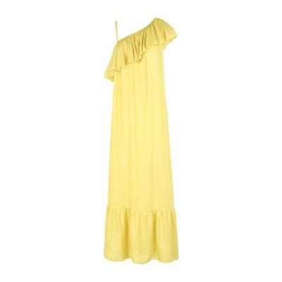 4GIVENESS 7分丈ワンピース・ドレス イエロー M ポリエステル 100% 7分丈ワンピース・ドレス