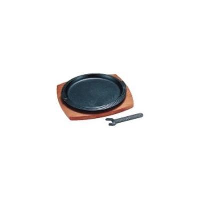 イシガキ産業 PIS03 イシガキ三筋丸ステーキ皿(632)