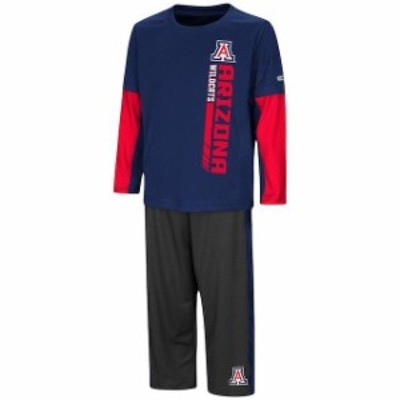 Colosseum コロセウム スポーツ用品  Colosseum Arizona Wildcats Toddler Navy/Red We Got Us Long Sleeve T-Shirt and Pant