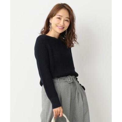 any SiS / 【洗える】コードヤーンワッフル ニット WOMEN トップス > ニット/セーター