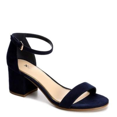 レディース 靴 サンダル Xappeal Womens Harlow Block Heel Dress Sandal Shoes