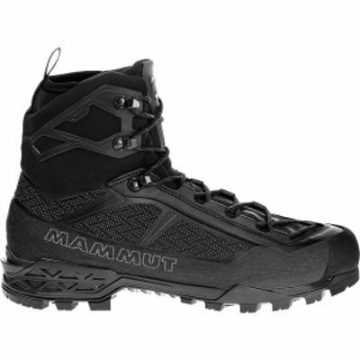 マムート メンズ ブーツ・レインブーツ シューズ Taiss Light Mid GTX Mountaineering Boot Black/Black