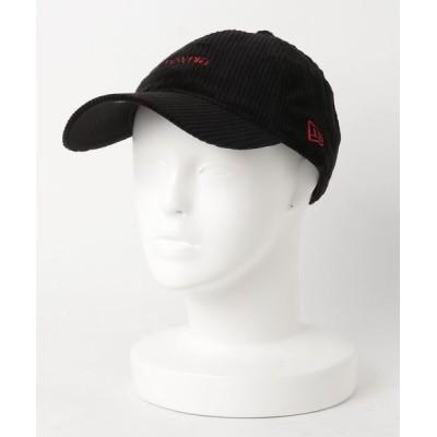 NAUGHTIAM / 【NEW ERA/ニューエラ】9THIRTY クロスストラップ コーデュロイ newera ミニロゴ WOMEN 帽子 > キャップ