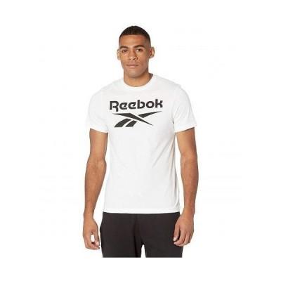 Reebok リーボック メンズ 男性用 ファッション Tシャツ Graphic Stacked Tee - White