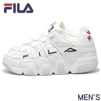 【店頭同時販売】FILA フィラ フィラバリケード XT 97 F0414-0125 BARRICADE メンズ スニーカー 靴 ホワイト 白 厚底 ダット シューズ トレンド ロゴ 復刻