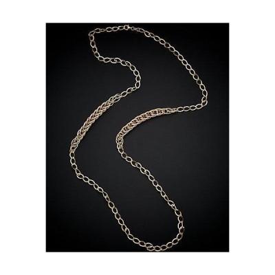 レディース アクセサリー  14K Italian Gold Tri-Tone Link Necklace