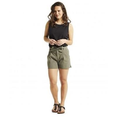 FIG Clothing フィグ レディース 女性用 ファッション ショートパンツ 短パン Dak Shorts - Acacia