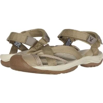 キーン KEEN レディース サンダル・ミュール アンクルストラップ シューズ・靴 Kira Ankle Strap Taupe