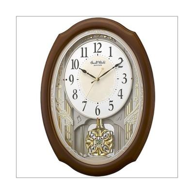 【正規品】リズム時計 クロック 掛時計 4MN541RH06 スモールワールドセレブレ