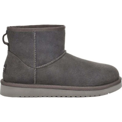 クーラブラ Koolaburra レディース ブーツ シューズ・靴 by UGG Mini II Sheepskin Boots Stone Grey