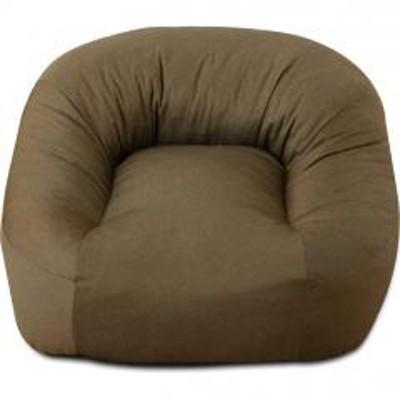 EMOOR(エムール)送料無料 一人掛けソファ 省スペースサイズ カーキ 座椅子 マフィー 日本製 シンプル ワンルーム フロアライフ フロアソファ 北欧 テレワーク 在宅 在宅勤務 巣ごもり
