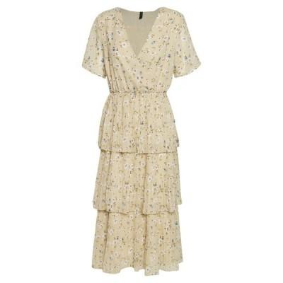 ヤス ワンピース レディース トップス YASFLORIA LONG DRESS - Day dress - oatmeal