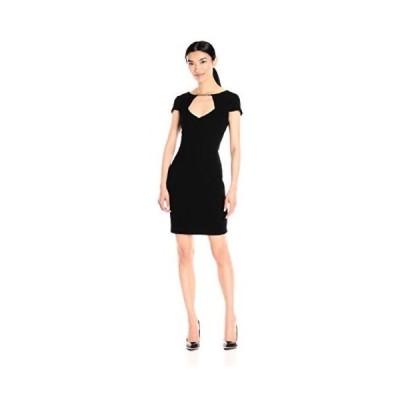 ドレス ジェシカシンプソン Jessica Simpson レディース ドレス・ワンピース JS6D869 Crepe Texture. Black