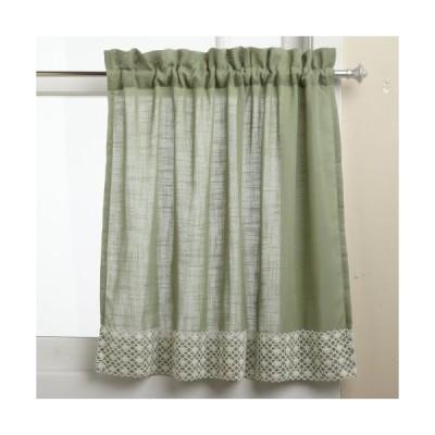 Lorraine Home Fashions Salem 60-inch x 36-inch Tier Curtain Pair, Sage by L