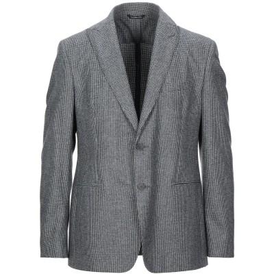 57 T テーラードジャケット ブラック 56 バージンウール 100% テーラードジャケット