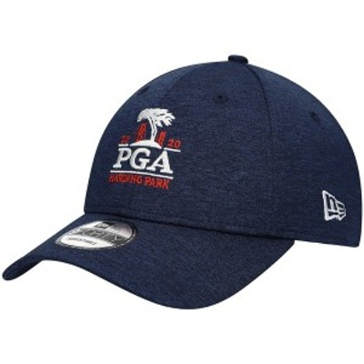 ニューエラ メンズ 帽子 アクセサリー 2020 PGA Championship New Era Shadow Tech 9FORTY Adjustable Hat Blue
