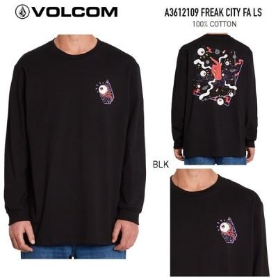 VOLCOM ボルコム【 FREAK CITY FA L/S TEE 】 A3612109 【 各サイズ 】 ロンティー Tシャツ シャツ ロングスリーブTシャツ