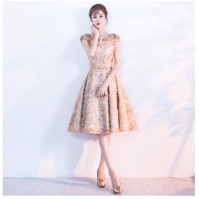 パーティードレス 花嫁 ミニグドレス 卒業式 パーティドレス 大きいサイズ 二次会ドレス 結婚式 ドレス イブニングドレス