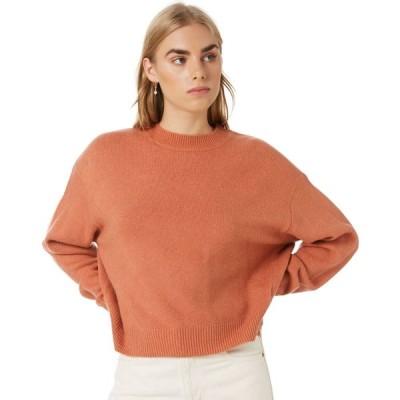 ヌード ルーシー Nude lucy レディース ニット・セーター トップス remi crew neck sweater Auburn