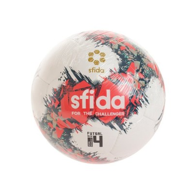 スフィーダ(SFIDA) フットサルボール 4号球 インフィニート APERTO 4 SB-21IA02 WHT/PNK 4 (メンズ、レディース)